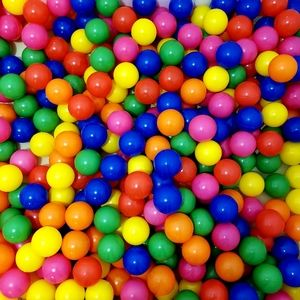 100 Phthalate free BPA free pit balls